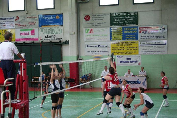partita Bedizzole Volley Service Italia